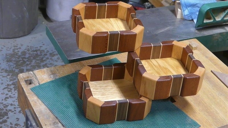 Bird mouth joinery box