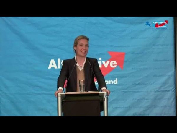 Phantastische Rede von Dr. Alice Weidel (AfD) in Niedersachsen am 16.03.2019