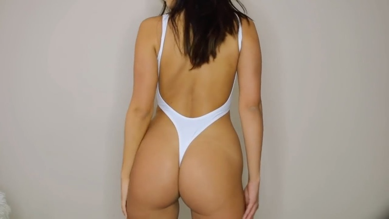 Hot Bikini Girl Trying on Swimsuits Sexy Bikinis String Bikini Thong Bikinis