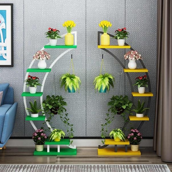 Какая красивая идея для цветов)