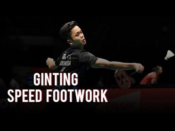 Anthony Sinisuka GINTING SPEED FOOTWORK BADMINTON
