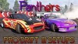 Panters Pro-Drift III Custom Setups (Mazda MX-5 Miata)  CarX Drift Racing 2