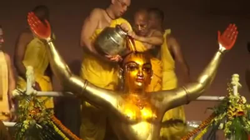 Маха Абхишека Шри Панча Таттвы Шри Дхама Маяпур 2019
