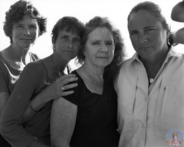 4 сестры делали фото каждый год в течении 40 лет, что бы увидеть все изменения, и доказать как же быстро летит время