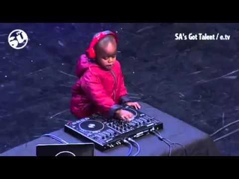 SAs got talent Golden Buzzer Young Best Dj ever