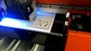 Metal sheet english dash board dial sample video shenzhen inz tech