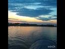 Эстафетный заплыв через озеро Ильмень