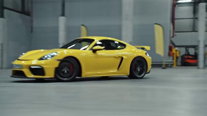 01 The new Porsche 718 Cayman GT4 Product highlights