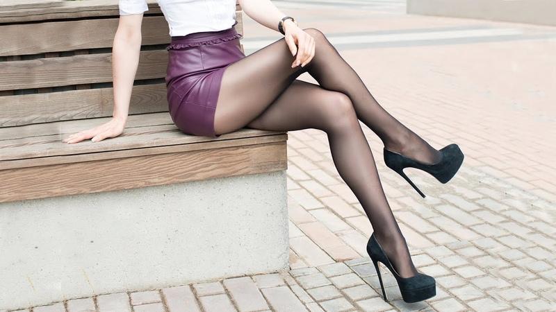 Pantyhose Legs Heels