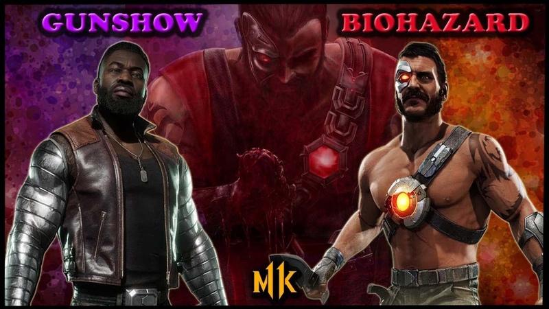 GODLIKE KANO! GunShow vs Biohazard Mortal Kombat 11