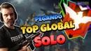 🔴 FREE FIRE AO VIVO MESTRE PEGANDO TOP GLOBAL SOLO (LIVE) É HOJE