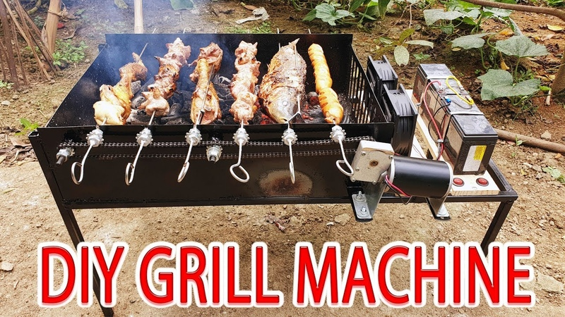 Build Grill Machine BBQ Grill At Home
