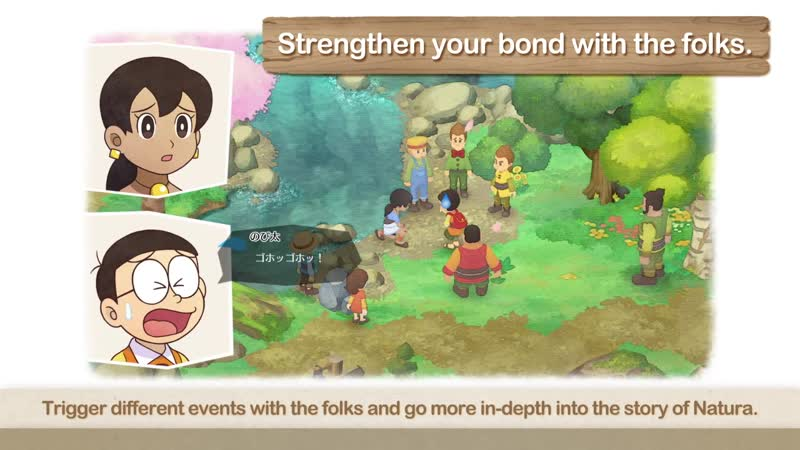 NSW, PC ¦ DORAEMON STORY OF SEASONS - Interacting With The Folks In Natura