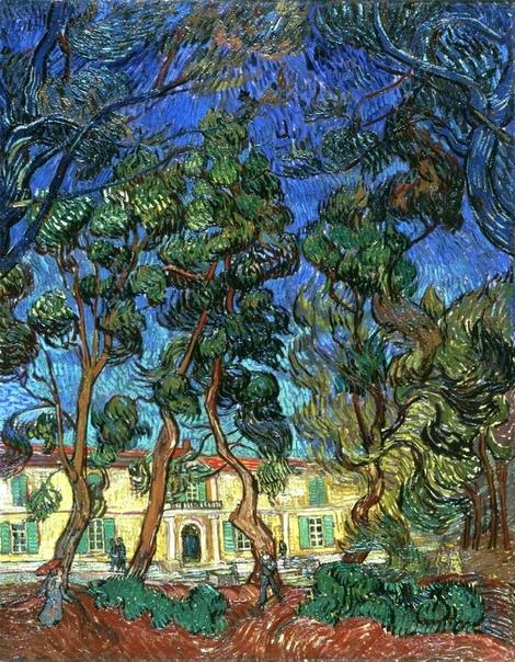 « одного шедевра». «Деревья в саду больницы Сен-Поль», Винсент Ван Гог