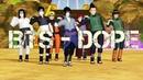 MMD Naruto Boys BTS 「DOPE」