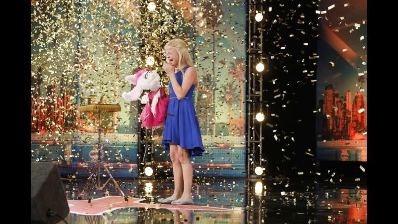 Darci Lynne *WINNER* America's Got Talent 2017 ALL PERFORMANCES HD