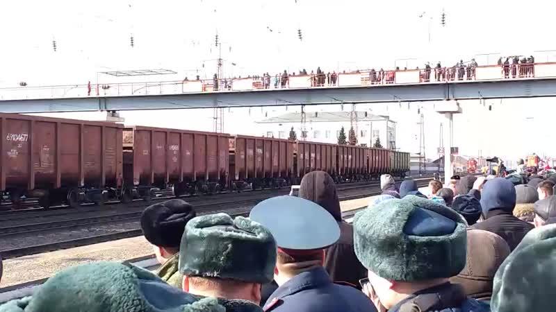 Поезд с оружием сирийских боевиков