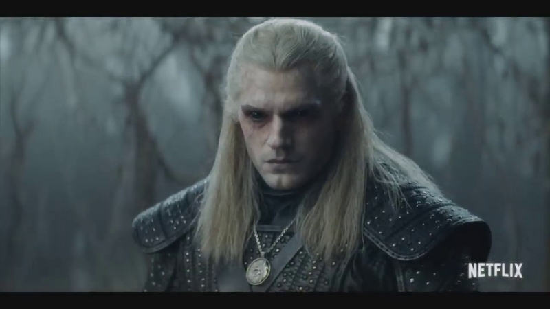 The Witcher Official Teaser Netflix Русская Озвучка