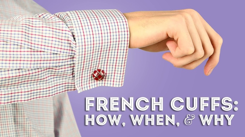 French Cuffs How When Why to Wear Double Cuffed Shirts