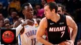 Oklahoma City Thunder vs Miami Heat Full Game Highlights March 18, 2018-19 NBA Season