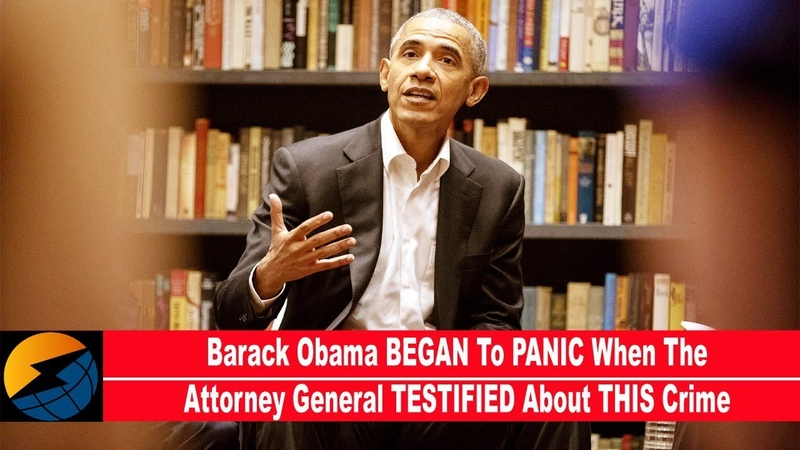 Barack Obama BEGAN To PANIC When The Attorney General TESTIFIED About THIS Crime REPORT