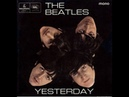 Yesterday   The Beatles (LYRICS ON SCREEN / ORIGINAL)