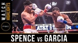 Spence vs Garcia HIGHLIGHTS March 16, 2019 - PBC on FOX PPV