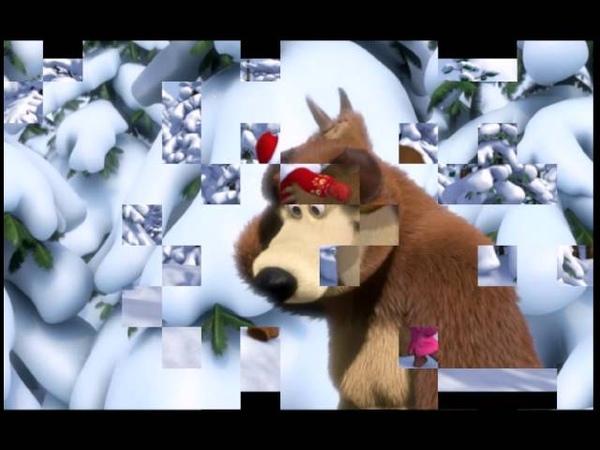 Новогодняя песня Маша и Медведь