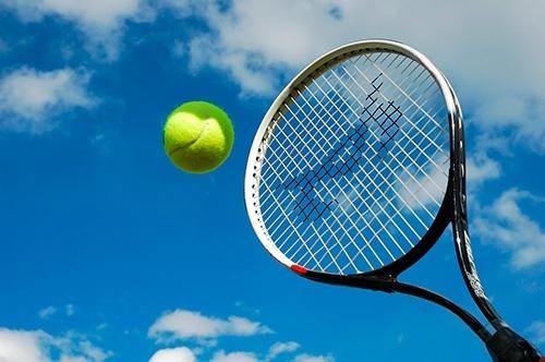 Тренировка ударов в теннисе в Харькове
