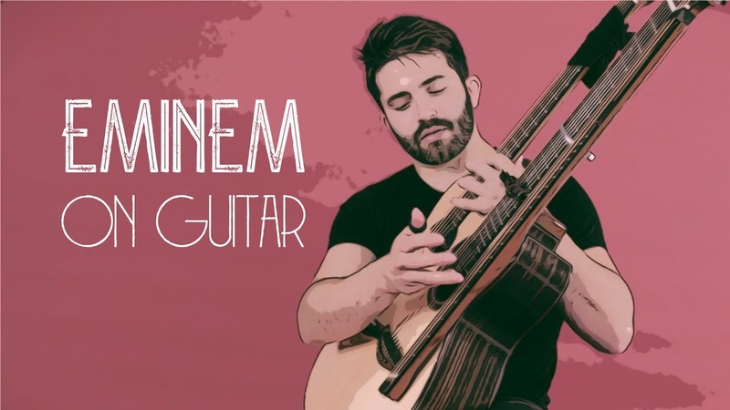 EMINEM ON GUITAR The Real Slim Shady Luca Stricagnoli