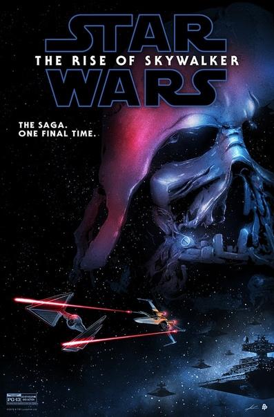 Постер новых «Звездных войн» от художника Марко Манева