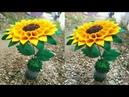 83 Ide Kreatif Tempat permen terbaru model bunga matahari candy bunga matahari lebaran