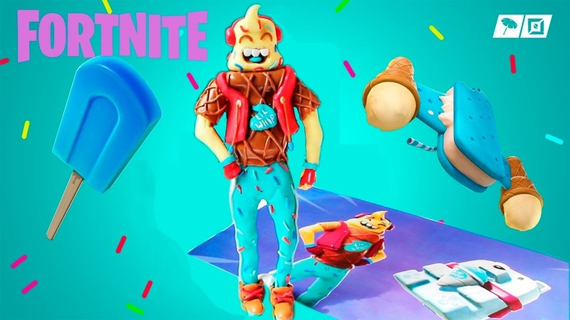 ЛЕПИМ СКИН РОЖОК из игры FORTNITE Lil Whip Fortnite