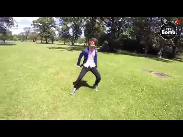 Чонгук, Тэхён и Чимин танцуют