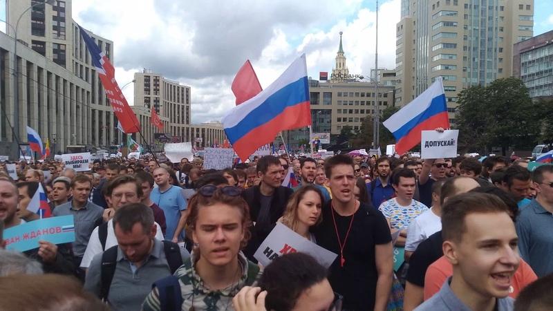 Самые громкие заявления митинга на проспекте Сахарова