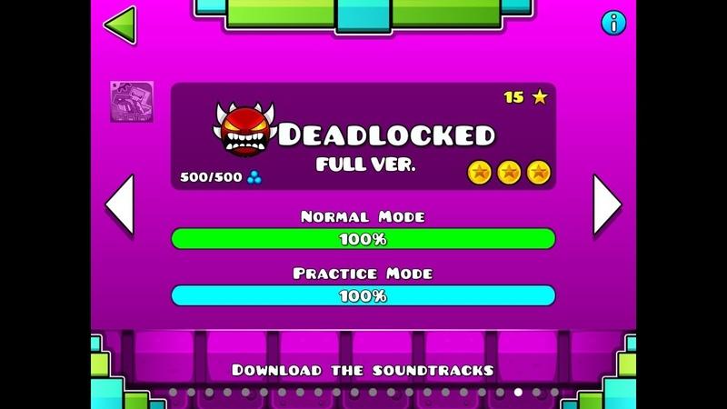 Deadlocked Full version id on desrciptcion