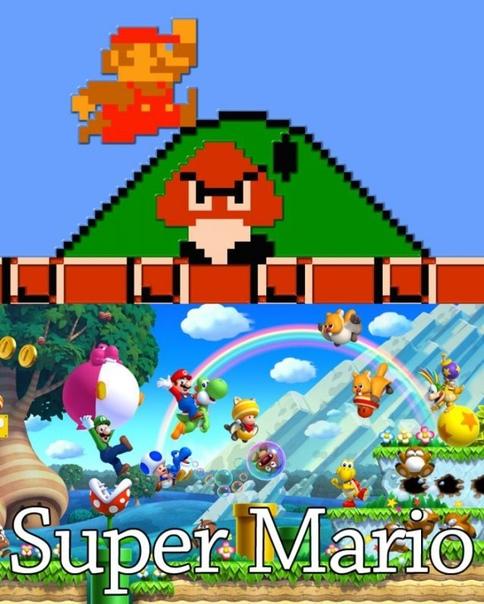 Видео игры тогда и сейчас
