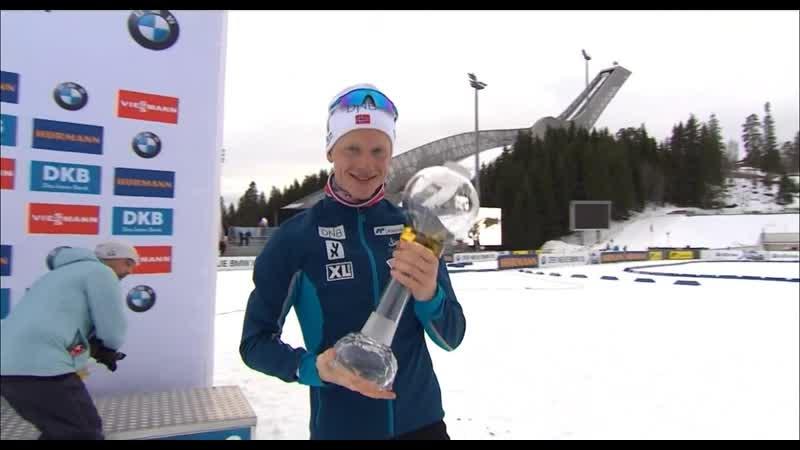 Йоханнес Бё обладатель МХГ в зачете масс-стартов и БХГ по итогам сезона