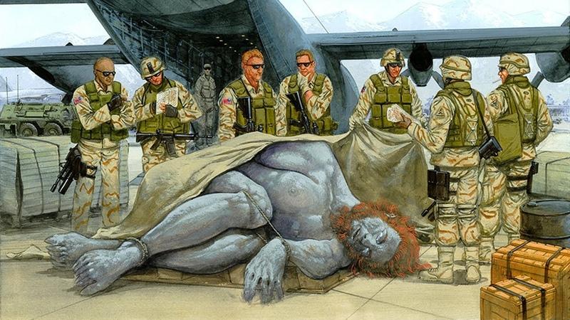 Свидетельства военных: гиганты существуют до сих пор. Режиссер Галина Царёва