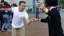 Сергей Белоусов и Ксения Шамарина - свинг в пространстве Севкабель Порта