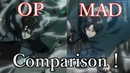 Attack on titan Opening 2 Comparison op and making video 進撃の巨人 op2 比較動画
