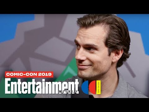 'The Witcher' Stars Henry Cavill, Freya Allan Cast LIVE | SDCC 2019 | Entertainment Weekly