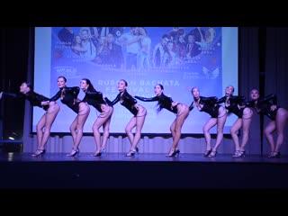 """▶ kseniya lunyashina show group """"step up"""" ◀ 3° place"""