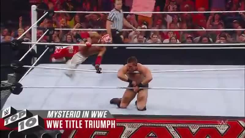 Rey Mysterio's greatest WWE moments WWE Top 10 Feb 3