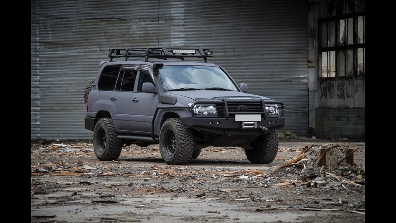 Toyota Land Cruiser 105 с защитным покрытием LINE-X от STC Красноярск