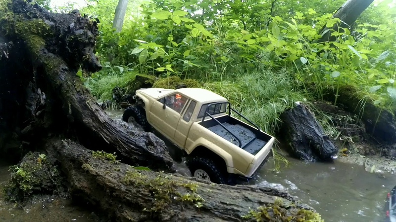Mud and River Trophy Trial journey Redcat Gen 8 Axial SCX10 II Traxxas TRX 4