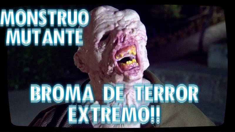 SUPER BROMA DE TERROR - El Montruo Asesino! - Bromas De Terror Por La Calle 2015 - Sustos de muerte