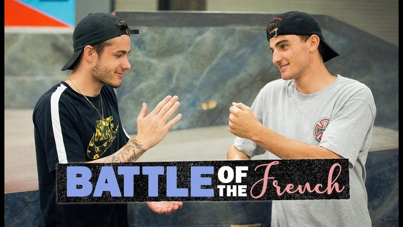 Battle Of The French Aurelien Giraud Vs. Vincent Milou On Every Berrics Obstacle