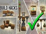 NEW Minecraft 1.14 Build HACKS &amp Tips!