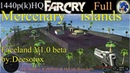 FarCry Mod(карта)-Mercenary islands Faceland_Full_1440p_(HQ)